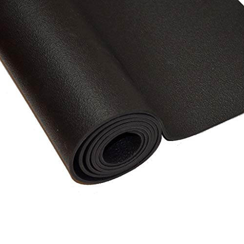 Sternitz - Esterilla de Yoga Pro - Latex Natural - Eco-Friendly - Antideslizante - Yoga Mat Natural Latex (180cm x 65cm x 4mm, Negro)