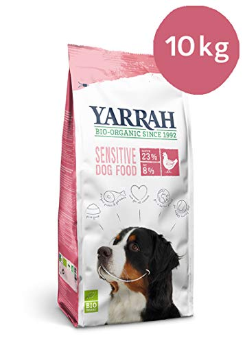 Yarrah Adult Dog Food Sensitive Gallina, 10 kg