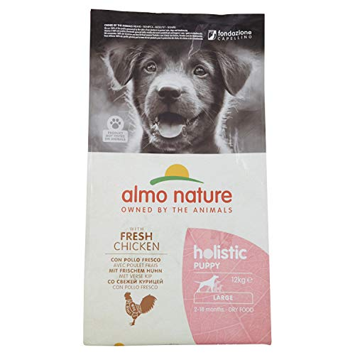 Almo Nature Dog Dry PFC Holistic Puppy Pollo Razas Grandes