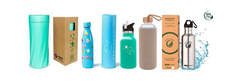 Las mejores Botellas de agua ecológicas y reutilizables