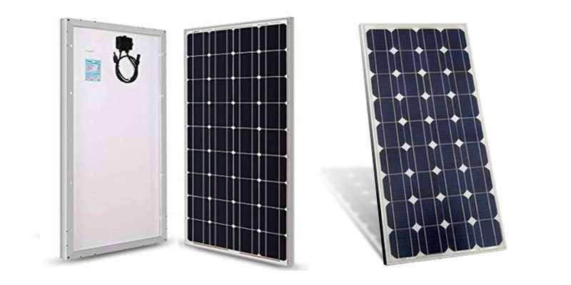 Los mejores paneles solares monocristalinos