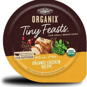 Castor & Pollux Organix Tiny Feasts Wet Dog Food