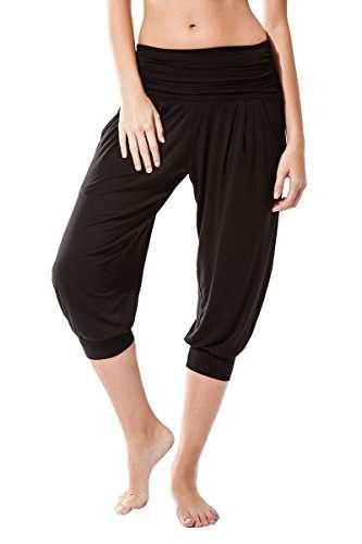 Sternitz Pantalón ecológico Fitness para Mujer - Tela de bambú