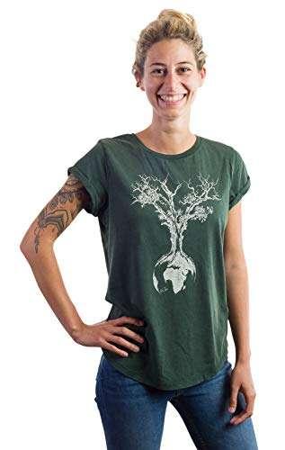 Camiseta Mujer algodón ecológico